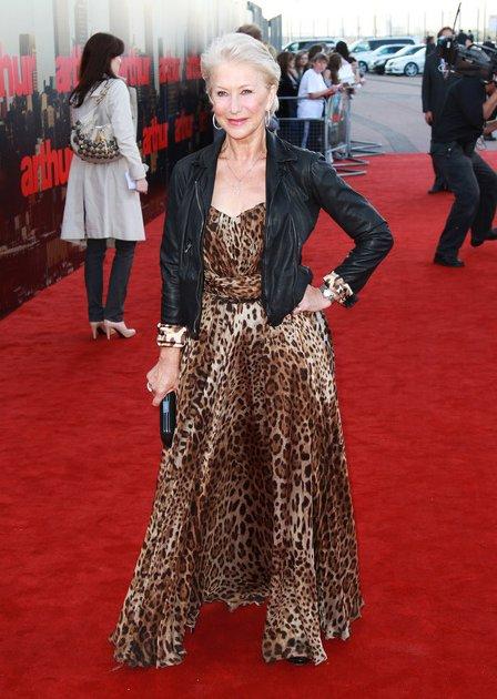 helen-mirren-leopard-print-dress