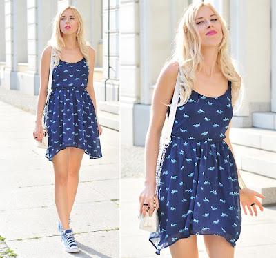 vestido + tênis 3