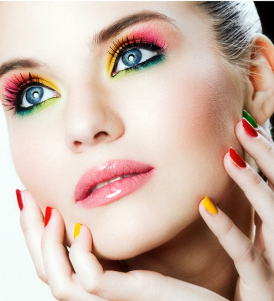 Colorful Spring Makeup Ideas