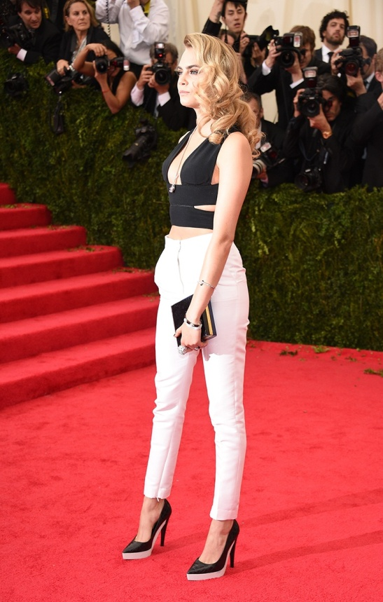 Cara Delevingne in a Stella McCartney