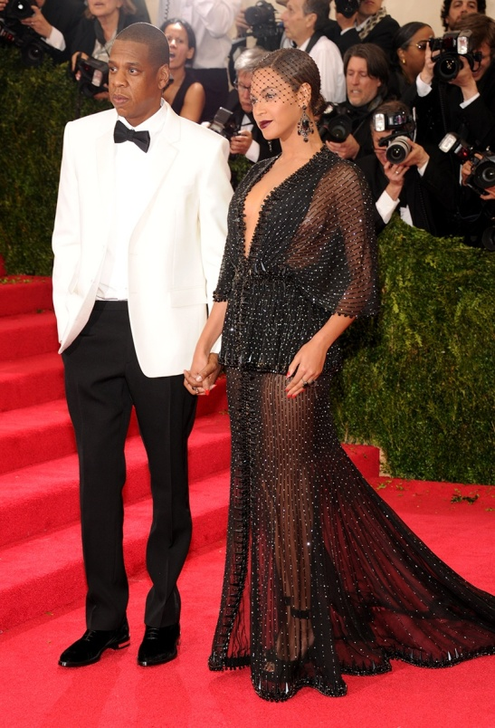eyoncé in a Givenchy Couture dress,